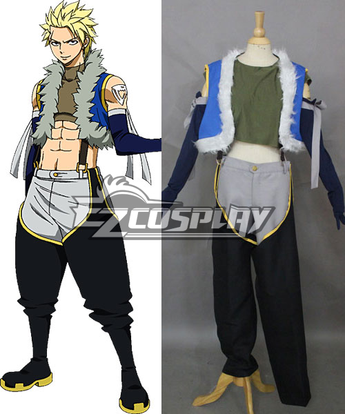 Fairy Tail Sting Eucliffe Cosplay Costume