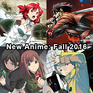 New anime Fall 2016