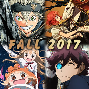 New anime Fall 2017