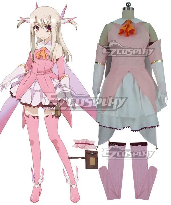 Fate Kaleid Liner Prisma Illya Illyasviel von Einzbern Cosplay Costume None