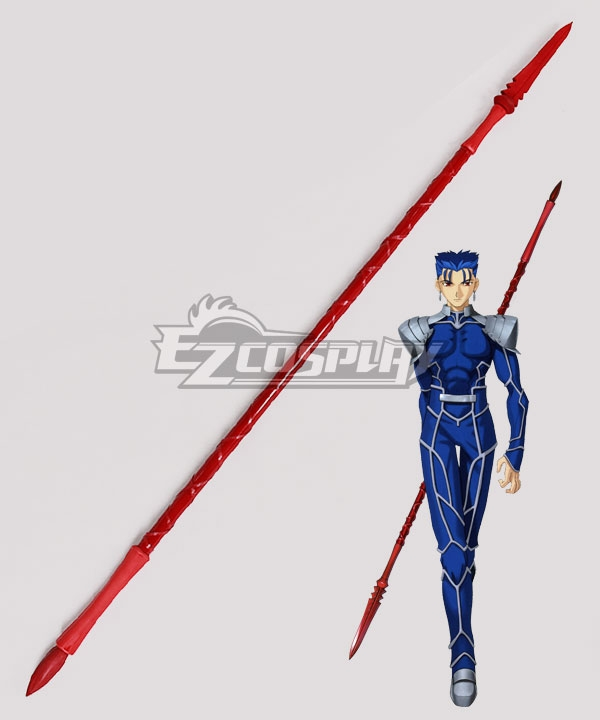 Fate Stay Night Lancer Cu Chulainn Spear Cosplay Weapon Prop