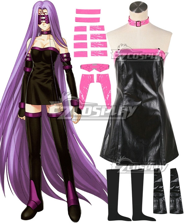 Fate Stay Night Fate Grand Order Rider Medusa Cosplay Costume