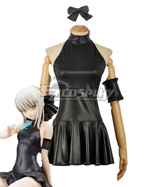 Fate Stay Night Saber Alter's Swimsuit Set Cosplay Costume EFN0172