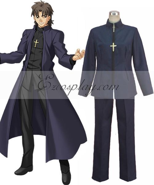 Fate Zero Kirei Kotomine Cosplay Costume