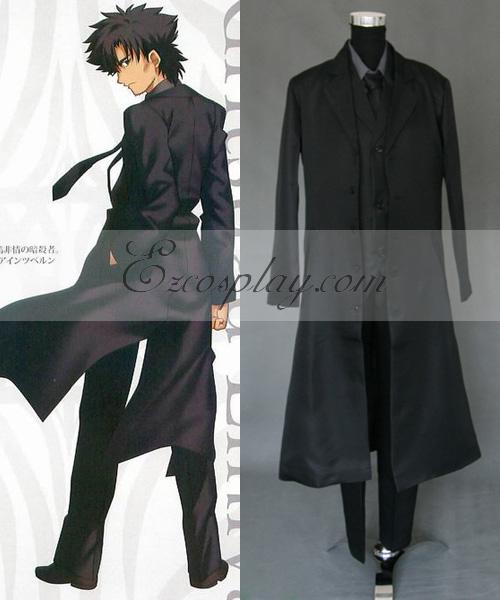Fate Zero Master Kiritsugu Emiya Cosplay Costume