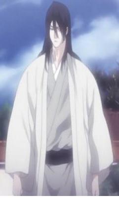 Bleach Kuchiki Byakuya Kimono Cosplay Costume