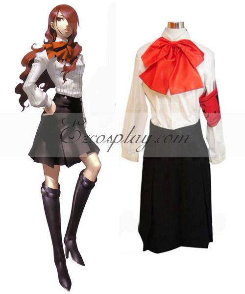 Persona 4 Tanaka Rie Cosplay Costume