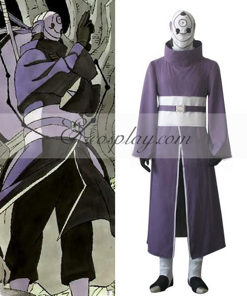 Naruto Shippuuden Uchiha Madara Rinnegan Cosplay Costume-Size 3XL