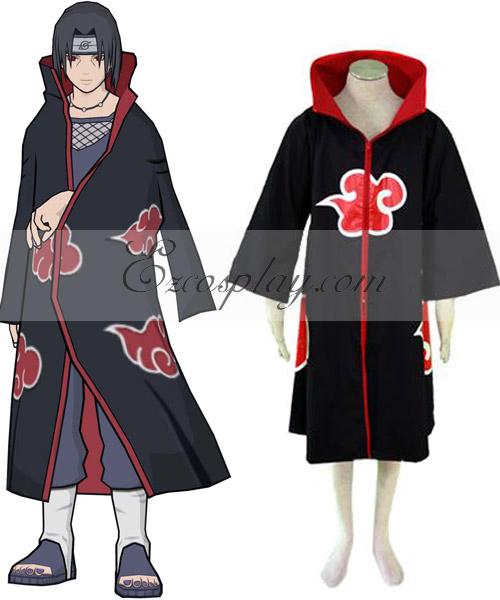 Naruto Akatsuki Coat Cosplay Costume