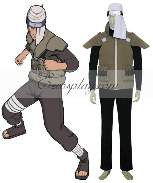 Naruto Sand Village Baki Cosplay Costume