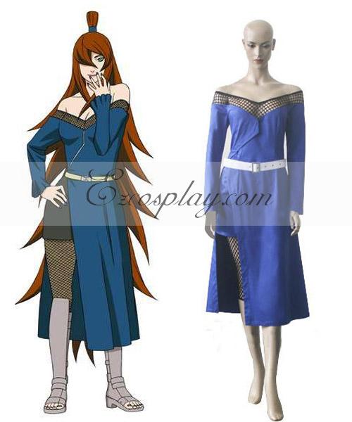 Naruto Shippuuden 5th Mizukage Godaime Cosplay Costume