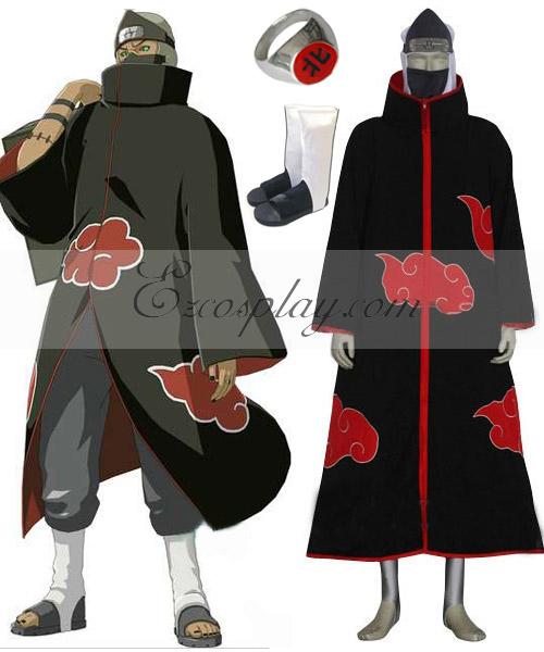 Naruto Akatsuki Kakuzu Deluxe Cosplay Costume
