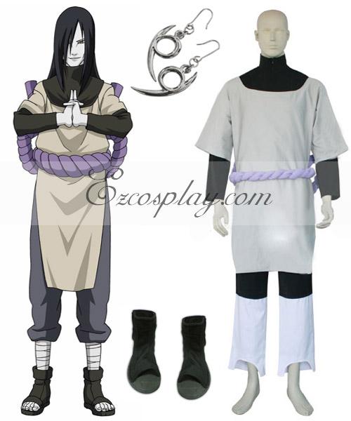 Naruto Orochimaru Cosplay Costume Set