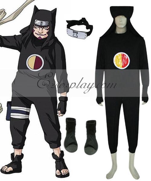 Naruto Kankuro 1st Cosplay Costume Set