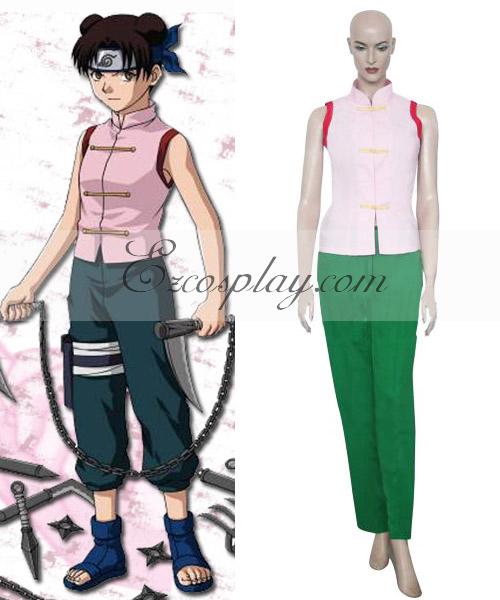 Naruto Tenten 1st Cosplay Costume