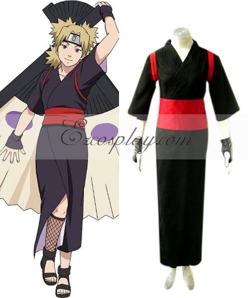 Naruto Shippuuden Temari Cosplay Costume