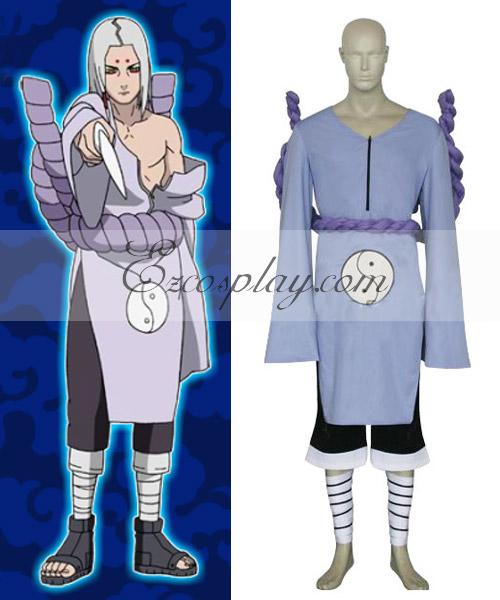 Naruto Kimimaro Kaguya Cosplay Costume