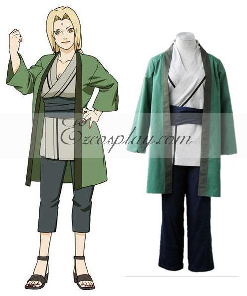 Naruto Shippuuden 5th Hokage Tsunate Cosplay Costume