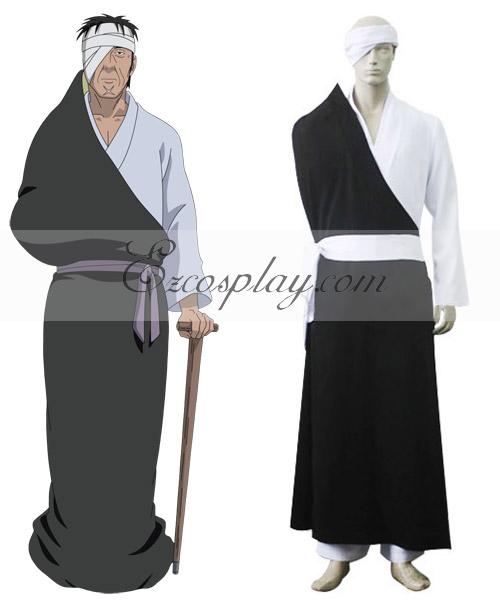 Naruto Shippuuden Danzo Sharingan Konoha Anbu Cosplay Costume