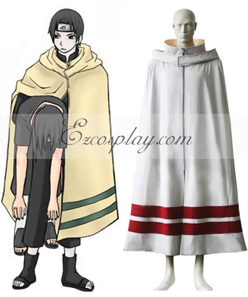 Naruto Leaf Village Cloak Cosplay Costume