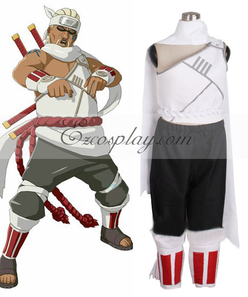 Naruto Shippuuden Killer Bee Cosplay Costume