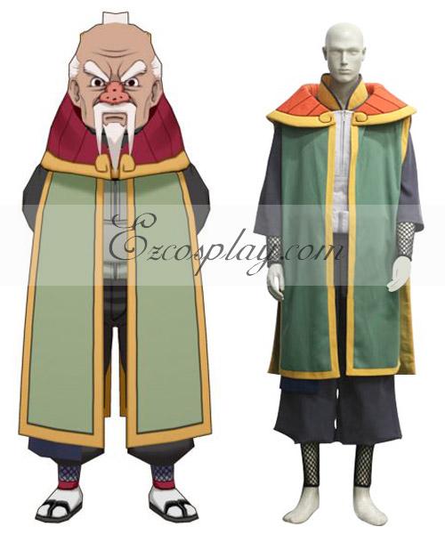 Naruto Shippuuden 3rd Tsuchikage Onogi Cosplay Costume
