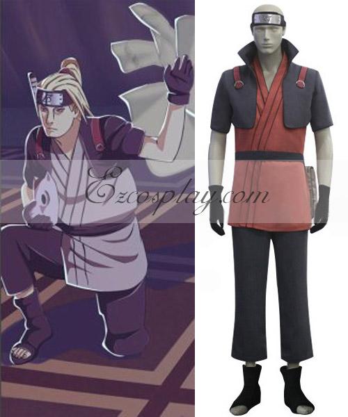 Naruto Shippuuden Yamanaka Fu Cosplay Costume