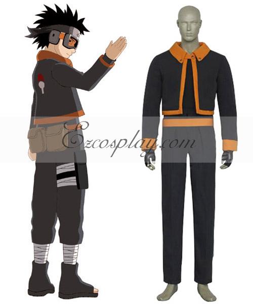 Naruto Obito Uchiha Young Boy Cosplay Costume