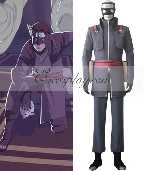 Naruto Shippuuden Aburame Torune Cosplay Costume
