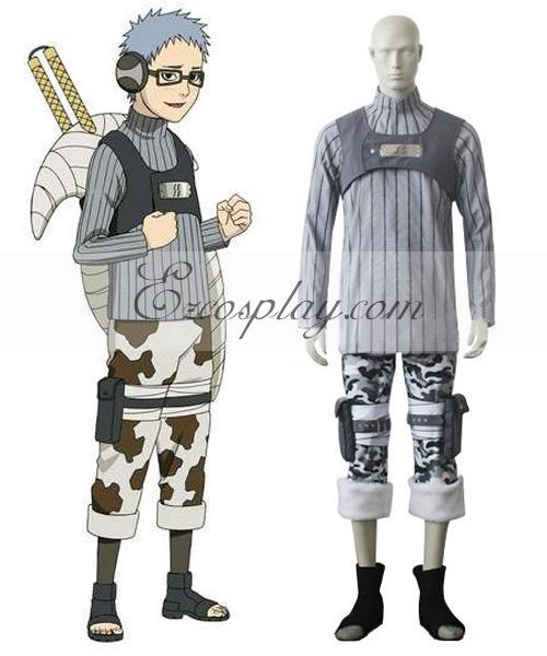 Naruto Shippuuden Chojuro Cosplay Costume