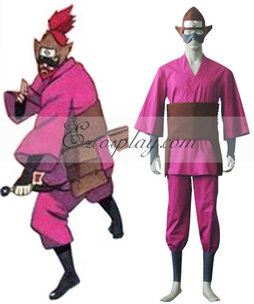 Naruto Shippuuden Four Tailed Roushi Cosplay Costume
