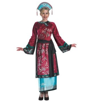 Pirates of the Caribbean 3 Elizabeth Geisha Deluxe Adult Costume