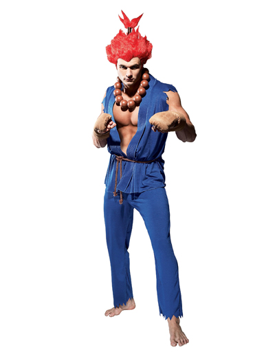 Street Fighter Akuma Adult Costume None