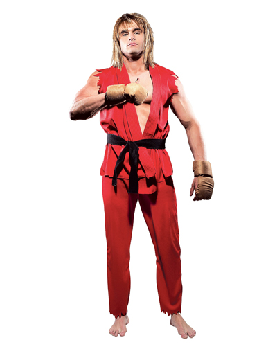 Street Fighter Ken Adult Costume ESF0002