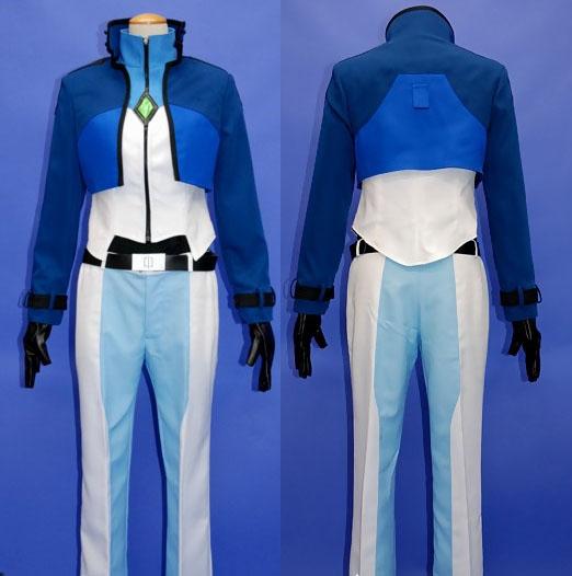 Gundam Setsuna Cosplay Costume