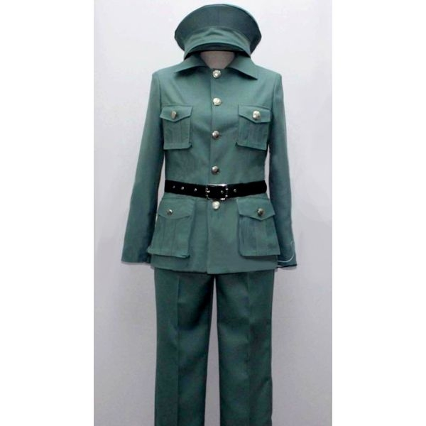 1940s Costumes- WW2, Nurse, Pinup, Rosie the Riveter Felix Poland Costume from Axis Powers Hetalia $97.99 AT vintagedancer.com