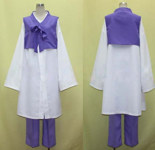 Im Young Soo (Korea) Cosplay Costume from Axis Powers Hetalia EHT0010
