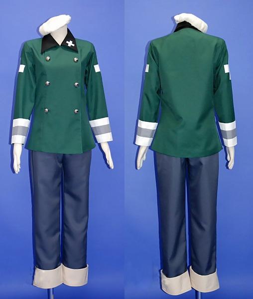 Vash Switzerland Cosplay Costume from Axis Power Hetalia