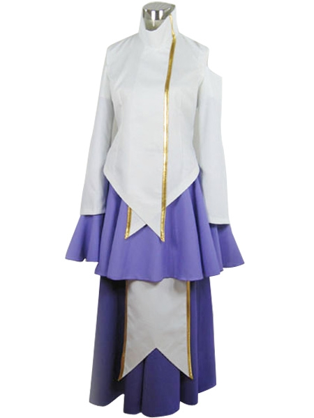 Gundam Seed Lacus Cosplay Costume