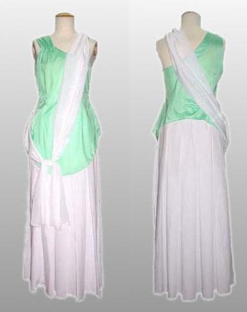 Cagalli Wedding Dress from Gundam Seed