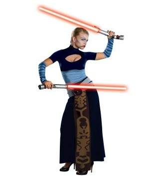 Image of Star Wars Clone Wars Asajj Ventress Adult Costume ESW0016