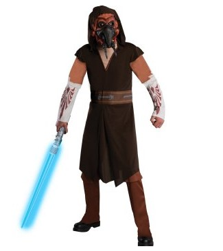 Image of Star Wars Clone Wars Deluxe Plo Koon Adult Costume ESW0027