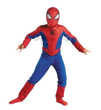 The Spectacular Spider-Man Animated Series Child Costume ESP0001 None