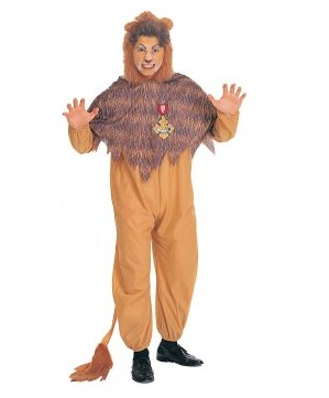 Product Image of The Wizard of Oz Cowardly Lion Adult Costume EWO0006