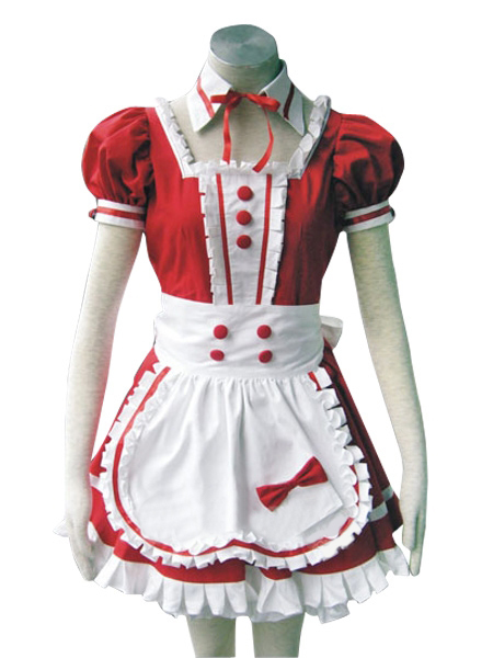 Red Precious Stone Love Cosplay Costume