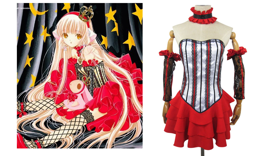 Chi Red Cosplay Costume from Chobits.com