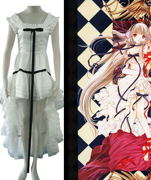 Chi White Dress Cosplay Costume from Chobits.com