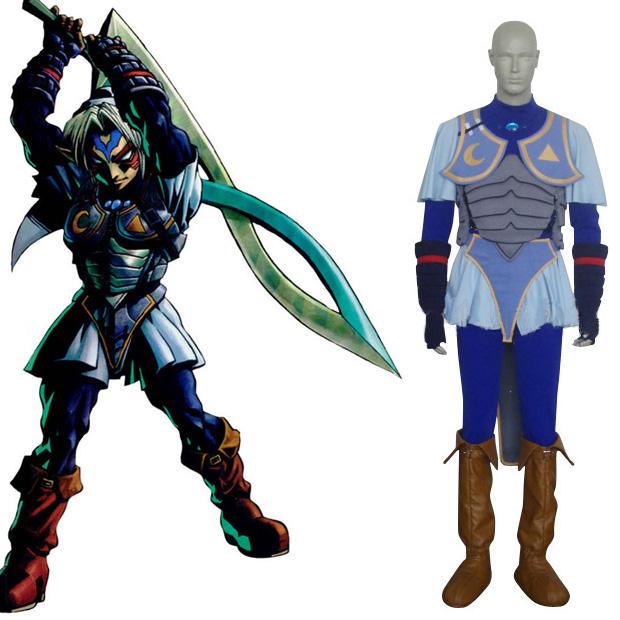 The Legend of Zelda Oni Link Cosplay Costume.com