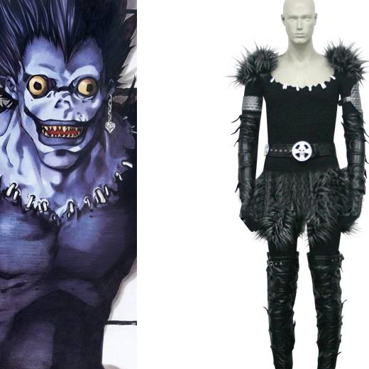 Death Note Shinigami Ryuuku Ryuk Cosplay Costume None