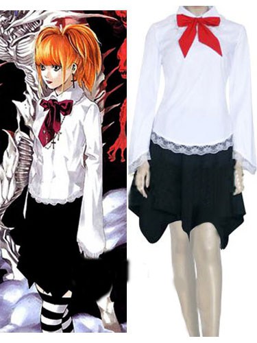 Death Note Amane Misa Cosplay Costume.com